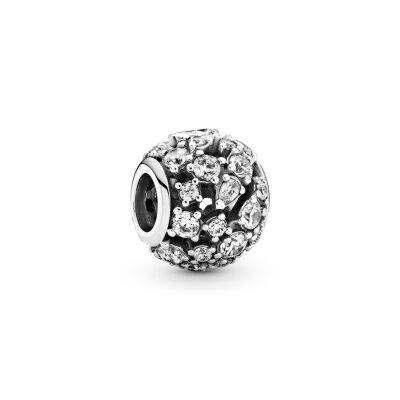 PANDORA Charm 799225C01 Sparkling Round