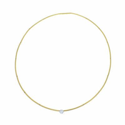 Brillant 0,15ct Halsreif 750/- Gelbgold 21138