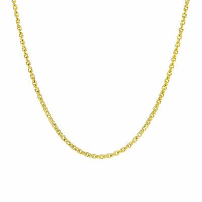 Halskette 333/- Gelbgold 45 cm Fantasie 21163