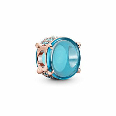 PANDORA ROSE Charm 789309C01 Blue Oval Cabochon