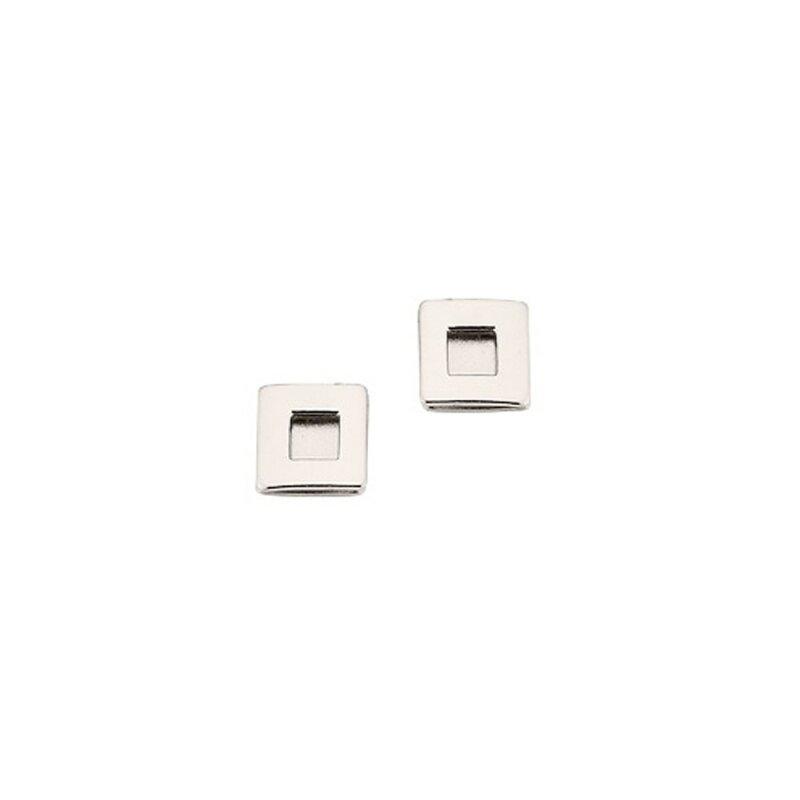 CEM Ohrstecker Titan Quadratisch Größe ca. 6x6 mm 4-107760-001
