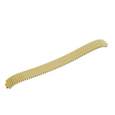 BEAR Ersatzband Flex Edelstahl IP gelbgold 12 mm 21303