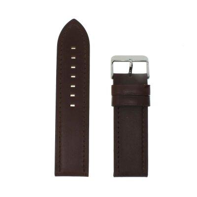 Fluco Uhrenband braun 24 mm HB City 090-02-24