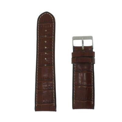 Boley Uhrenband 24 mm XL bonflair mittelbraun 20249-2411