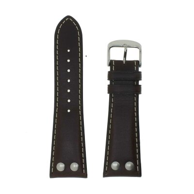 Di-Modell Uhrenband Ikarus 24 mm braun 1225-2826