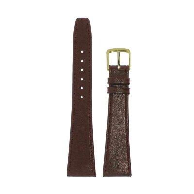 Di-Modell Clip-Uhrenband 20 mm rotbraun 1005-08205