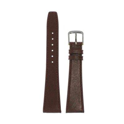 Di-Modell Clip-Uhrenband 20 mm rotbraun 1005-08202