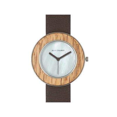 Rolf Cremer Wood 507107 Damen Armbanduhr braun