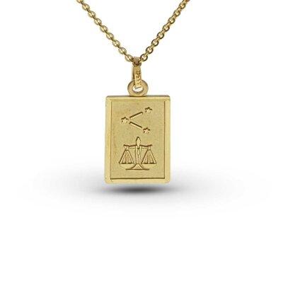 Sternzeichen Waage 21646 333/- Gelbgold
