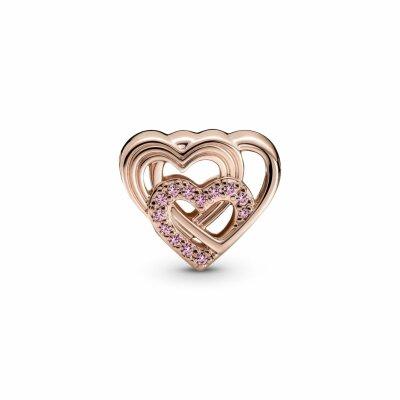 PANDORA ROSE Charm Interwined  Love Heart 789529C01