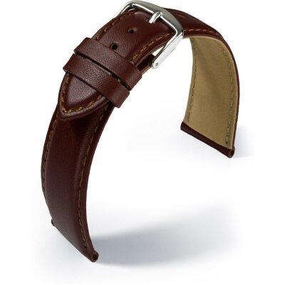 Eulit Lederband Büffelkalb Braun 22 mm