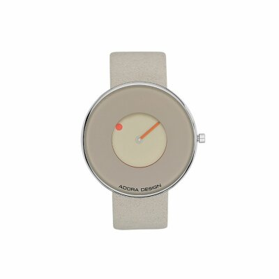 Adora Design Damenuhr mit Lederband AD8499 beige