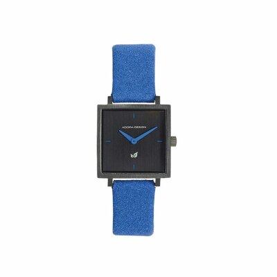 Adora Damenuhr mit veganem Armband AD8595 blau