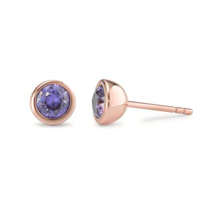 TeNo Ohrstecker Joy 594036 Purple Rose