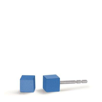 TeNo Ohrstecker Cube 592569 Lapis Blue