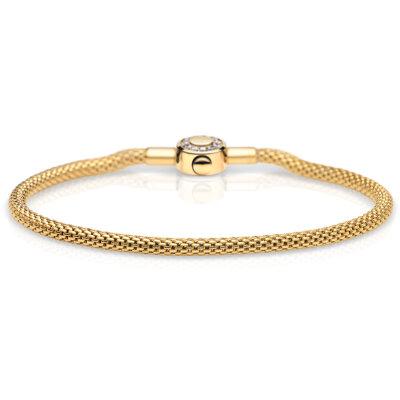 Bering Armband mit Zirkonia 616-20-X0 IP gelbgold