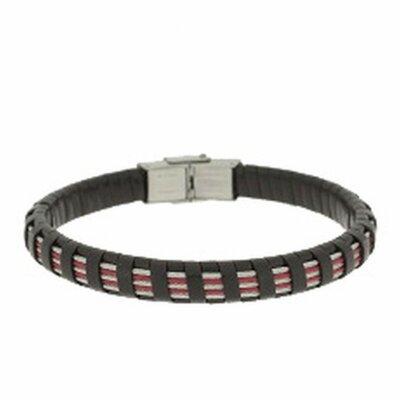 Clochard Fashion Unisex-Armband 20 cm BA6385/NE Leder