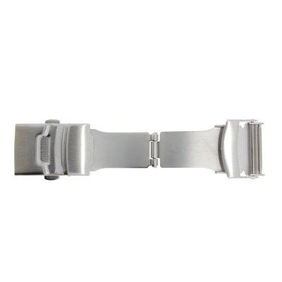 Faltschließe  8172 für Lederbänder von 18 mm
