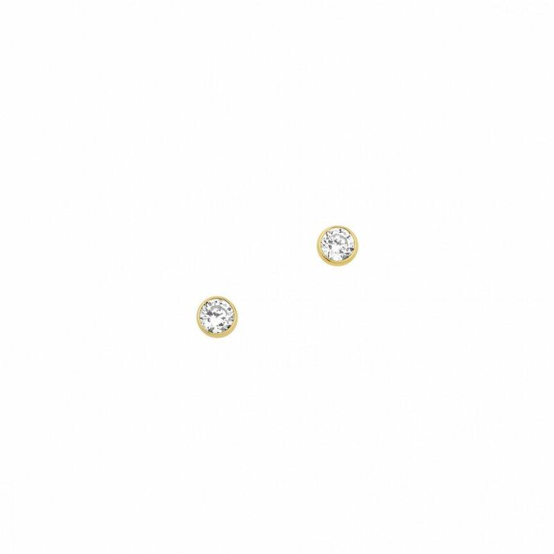 CEM Ohrstecker 333/- Gold mit Zirkonia 6-119454-001