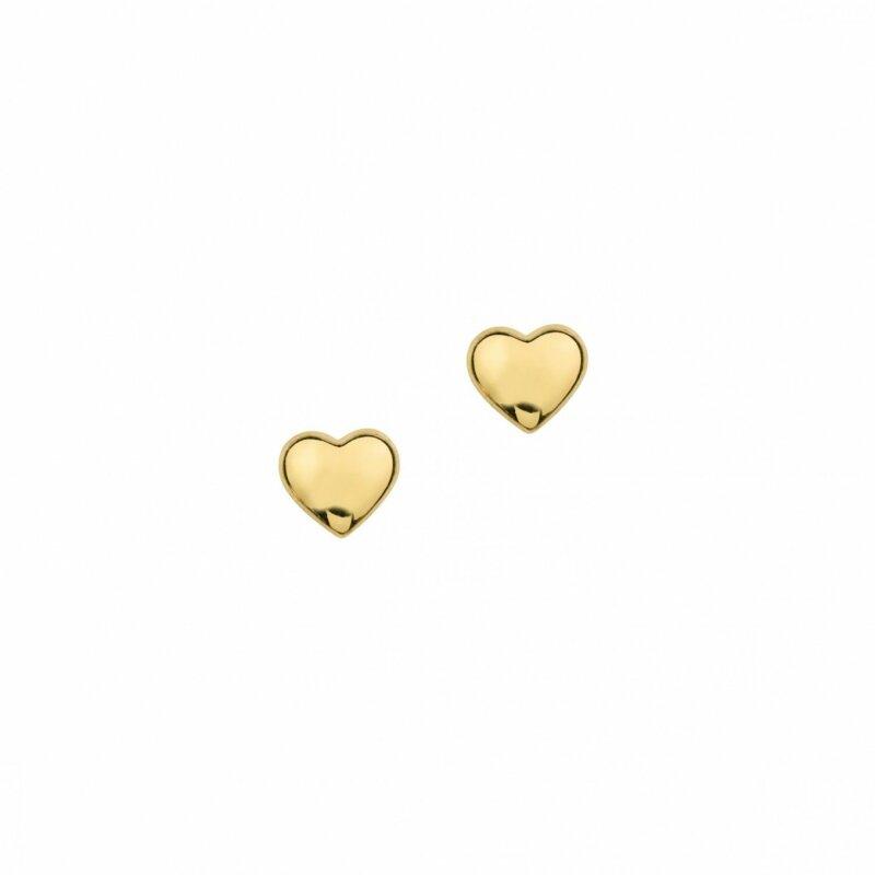 CEM Ohrstecker 333/- Gold Herz 6-119485-001