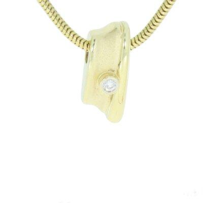 Kettler Brillant-Anhänger 710435040010 585/- Gelbgold