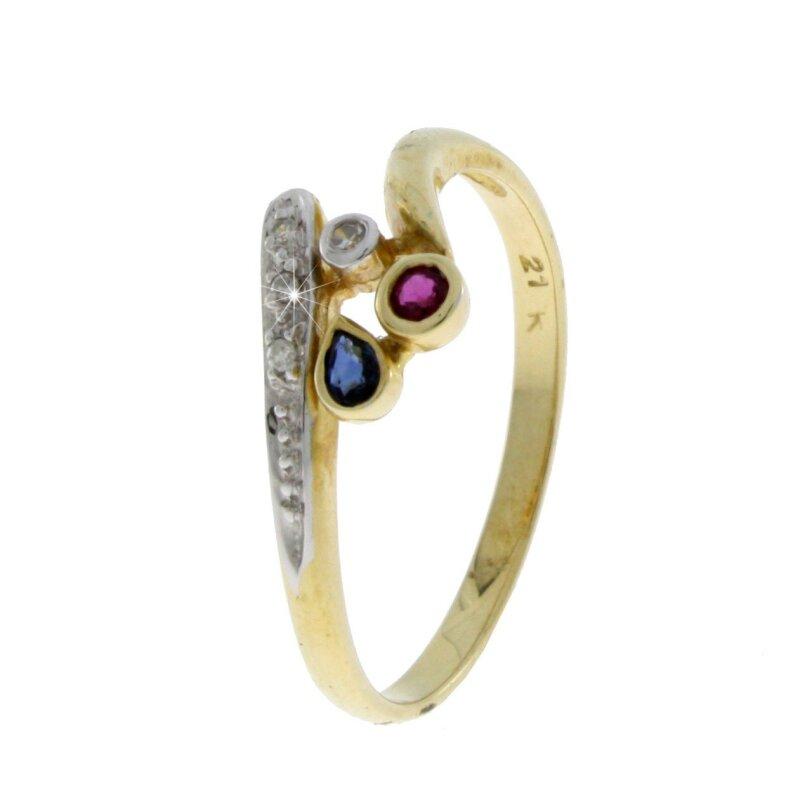 Kettler Brillantring 585/- Gelbgold Größe 58 1757576