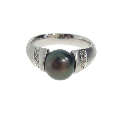 Schoeffel Damenring 579441 mit Tahiti-Perle und Brillanten