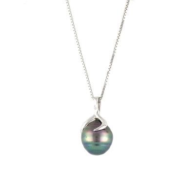 Kettler Damenkette und Ohrstecker mit Tahiti-Perlen PAR03