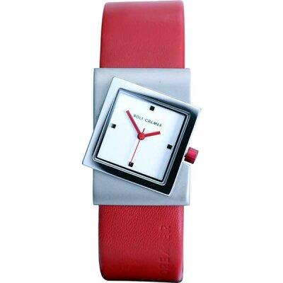 Rolf Cremer Turn 492353 Unisex Armbanduhr Rot