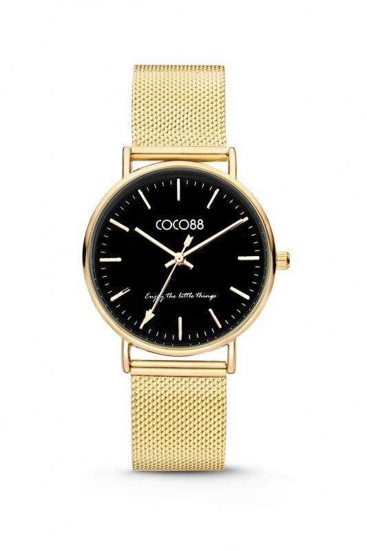 COCO88 Damenuhr 8CW-10007 Milanaiseband