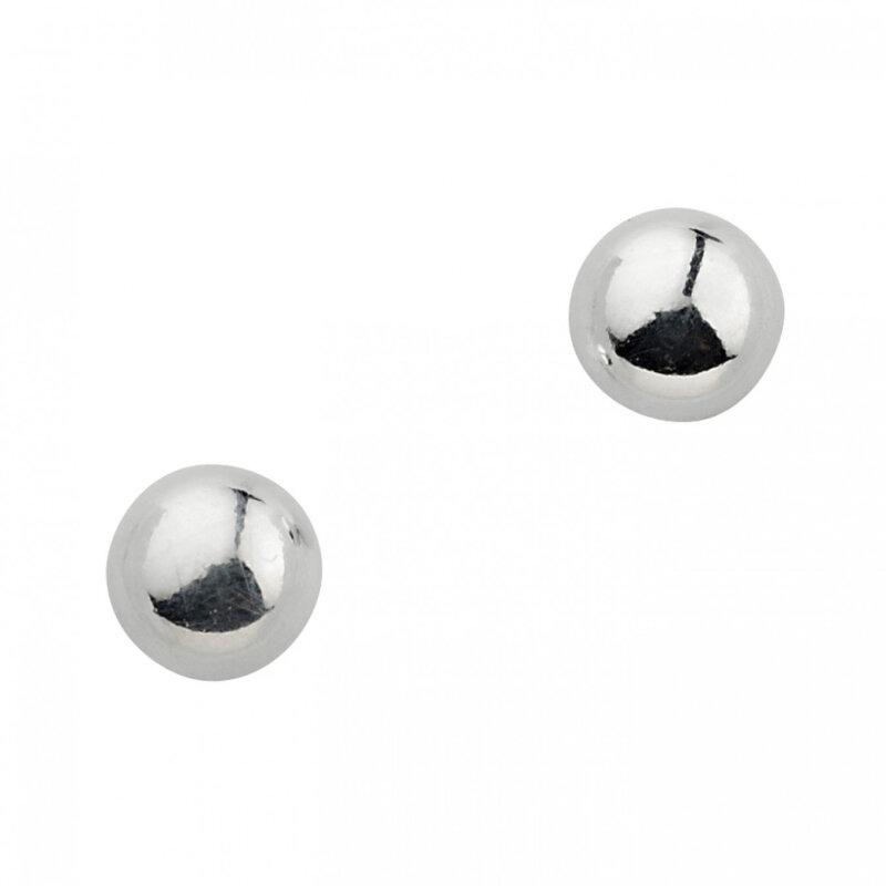 Kettler Ohrstecker Kugel Sterlingsilber 5 mm