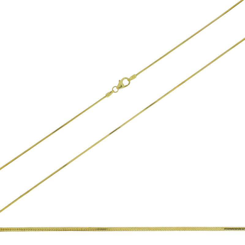 Kettler Kette 585/-GG Schlange 8-kant 40 cm