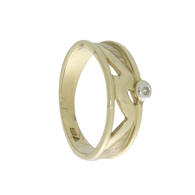 Kettler Brillantring 585/- Gelbgold 61000080110010